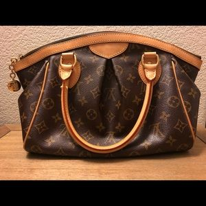 Authentic Louis Vuitton Monogram Canvas Tivoli PM